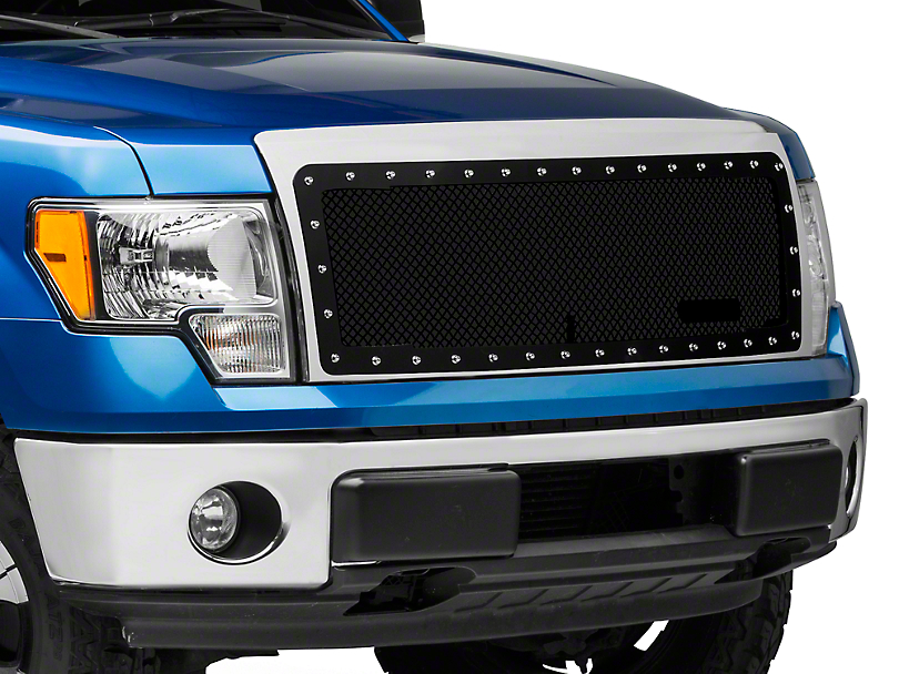Royalty Core RC1 Classic Stainess Steel Grille - Gloss Black (09-14 All, Excluding Raptor)