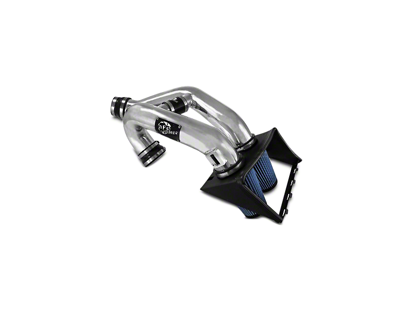 AFE Magnum Force Stage 2 Pro 5R Cold Air Intake - Polished (2011 3.5L EcoBoost)