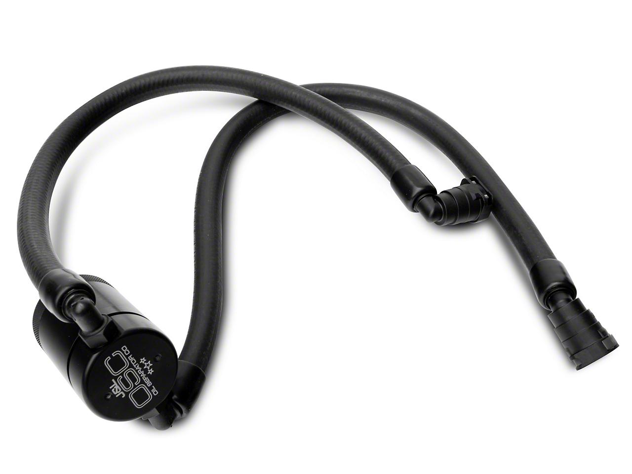 JLT V3.0 Black Oil Separator - Passenger Side (11-18 2.7L/3.5L EcoBoost, 5.0L, 6.2L)