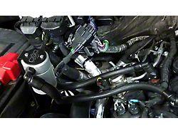 JLT V3.0 Satin Oil Separator - Passenger Side (11-19 2.7L/3.5L EcoBoost, 5.0L F-150)