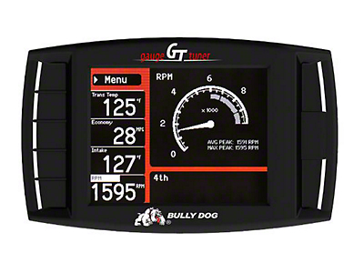 Bully Dog Rapid Flow Stage 2 Cold Air Intake & GT Platinum Tuner (11-14 6.2L, Excluding Raptor)