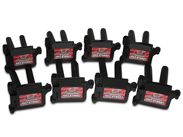 GMS 3V Hot Street Coil Pack Kit - Black (09-10 4.6L 3V, 5.4L)
