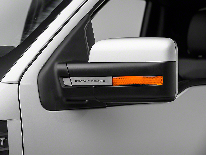 SpeedForm Brushed Side View Mirror Trim (10-14 F-150 Raptor)