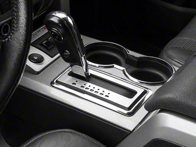 Modern Billet Brushed Shifter Plate (10-14 F-150)