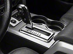 Modern Billet Brushed Shifter Plate (10-14 F-150)