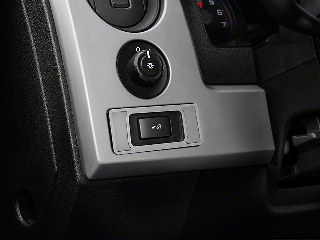 Modern Billet Brushed Interior Dim Switch Plate (10-14 F-150)