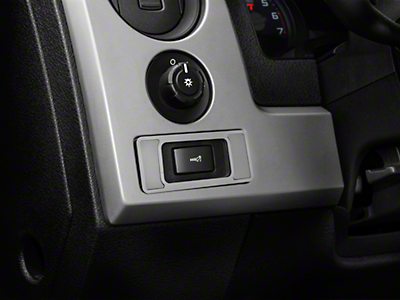 Brushed Interior Dim Switch Plate (10-14 F-150)