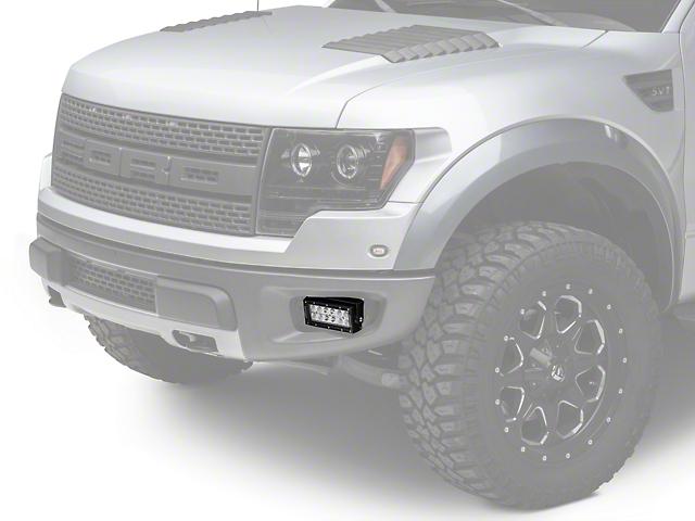 ZRoadz Front Bumper Light Mounting Kit w/ Two 6 in. LED Light Bars (10-14 Raptor)