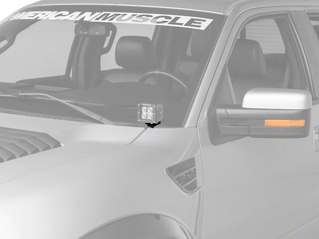 ZRoadz Two 3 in. LED Light Cube Hood Hinge Mounting Brackets (09-14 F-150)