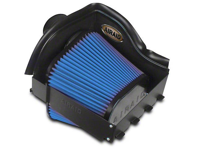 Airaid QuickFit Air Dam w/ SynthaMax Dry Filter (10-14 6.2L Raptor)