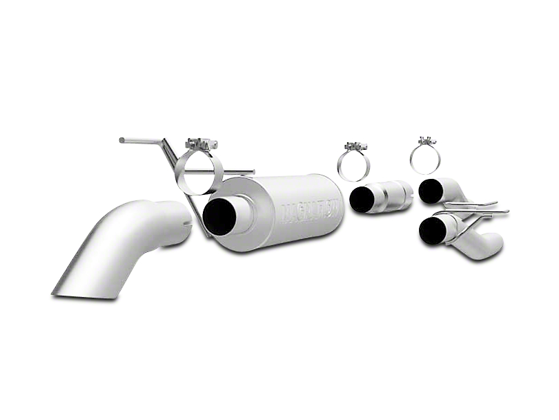 Magnaflow Off Road Pro Series Cat-Back Exhaust - Turn Down (09-10 5.4L, Excluding Raptor)