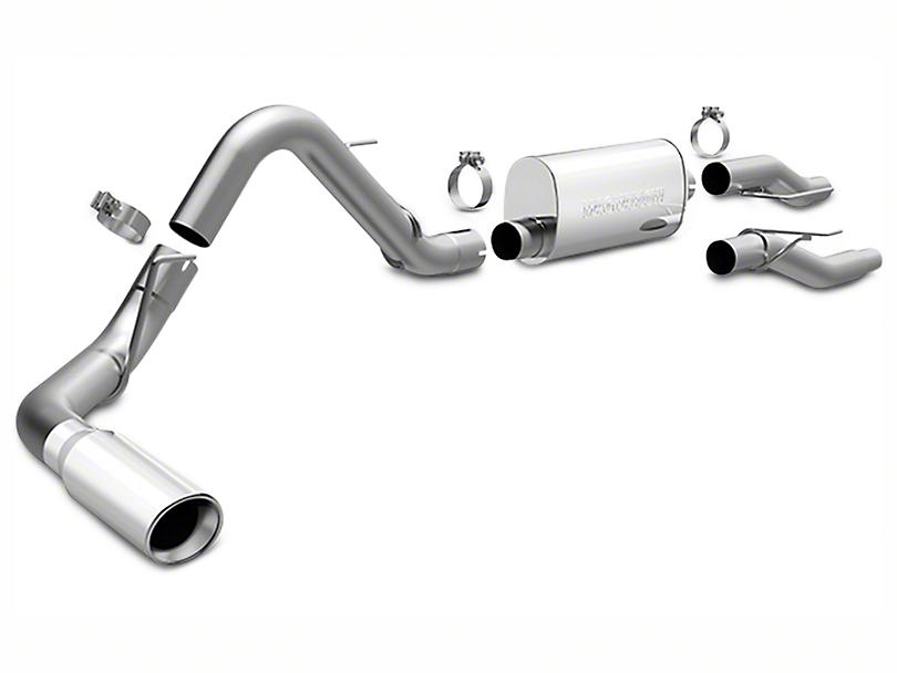Magnaflow MF Series Cat-Back Exhaust - Single Side Exit (09-10 4.6L)