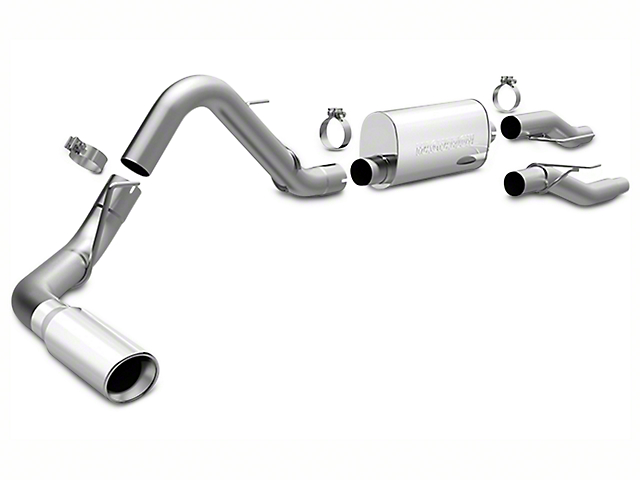 Magnaflow MF Series Single Exhaust System - Side Exit (09-10 4.6L F-150)