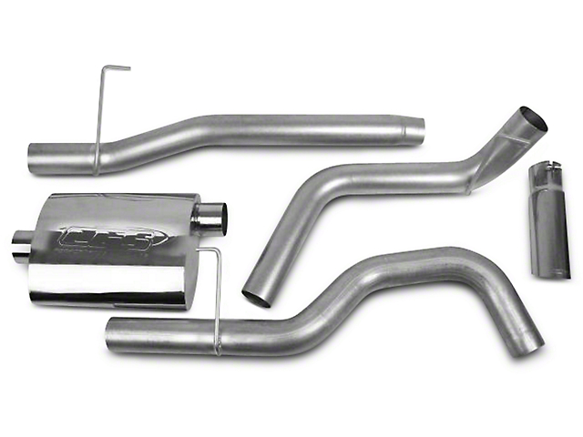 CGS Motorsports Aluminized Cat-Back Exhaust System - Single Side Exit (04-08 5.4L)