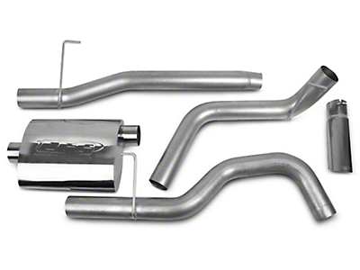 CGS Motorsports Stainless Single Exhaust System - Side Exit (04-08 5.4L F-150)