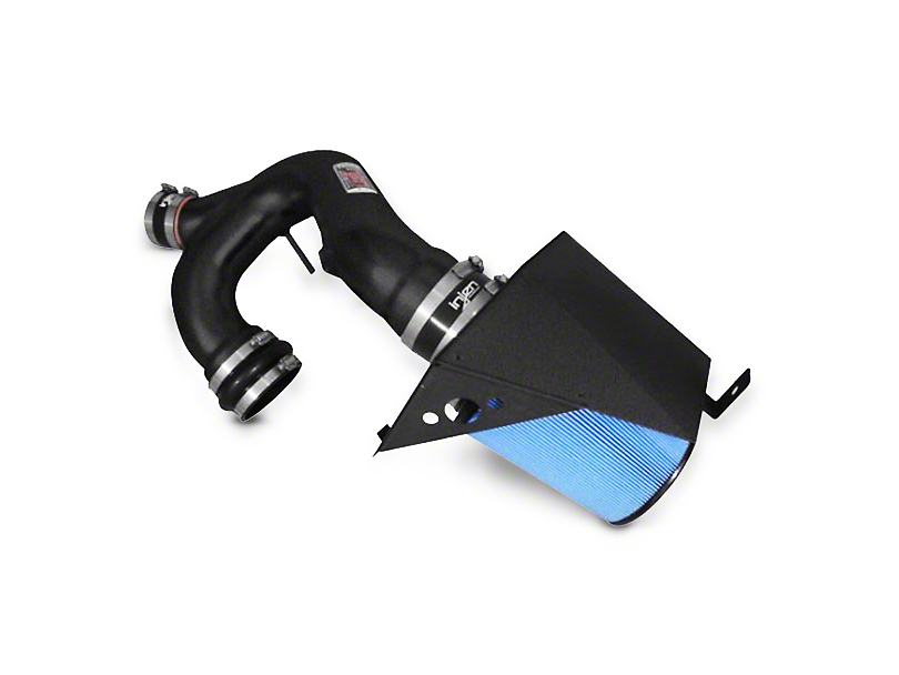 Injen Power-Flow Cold Air Intake - Wrinkle Black (11-13 3.5L EcoBoost)