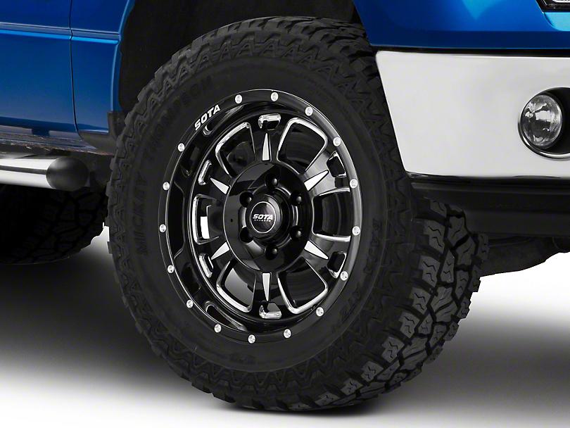SOTA Off Road Death Metal M-80 6-Lug Wheel - 17x9 (09-14 All)