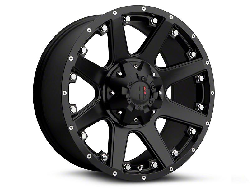 Havok Off-Road H102 Matte Black 6-Lug Wheel - 18x9 (15-18 All)