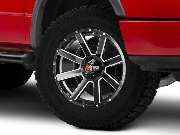 Havok Off-Road H107 Black Milled 6-Lug Wheel - 20X9 (15-19 F-150)