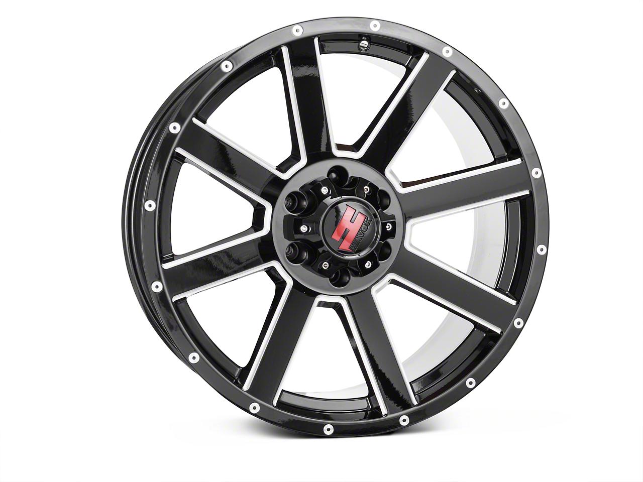 Havok Off-Road H108 Black Milled 6-Lug Wheel - 20X9 (09-14 F-150)