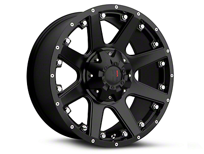 Havok Off-Road H102 Matte Black 6-Lug Wheel - 17x9 (09-14 All)