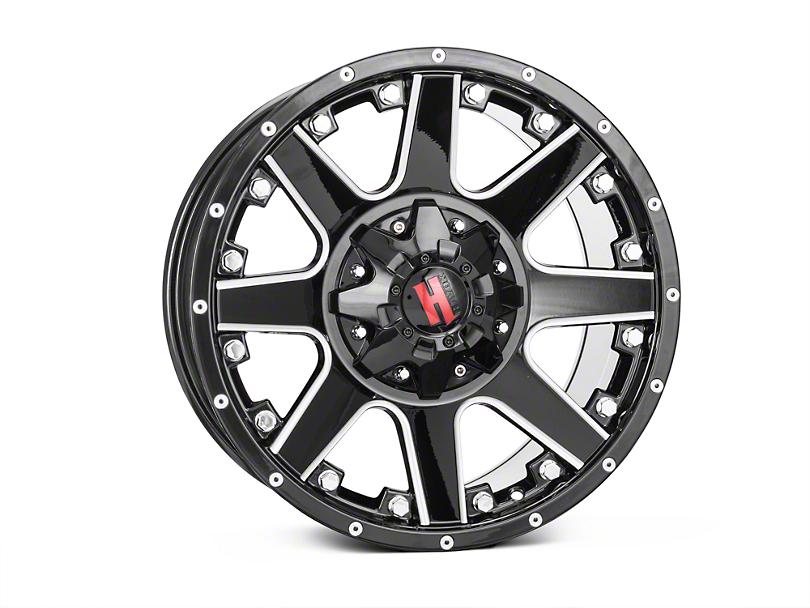 Havok Off-Road H102 Black Milled 6-Lug Wheel - 18x9 (04-08 All)