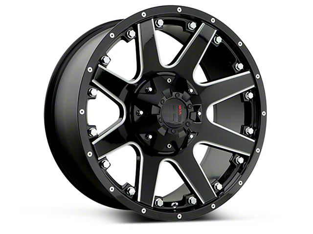 Havok Off-Road H102 Black Milled 6-Lug Wheel - 18x9 (15-18 F-150)