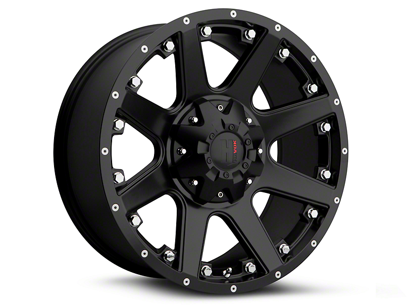 Havok Off-Road H102 Matte Black 6-Lug Wheel - 20x9 (15-18 F-150)