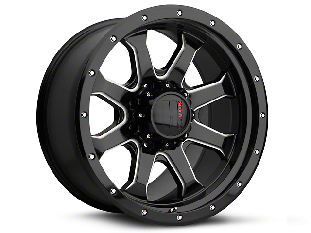 Havok Off-Road H105 Black Milled 6-Lug Wheel - 20x9 (04-08 F-150)