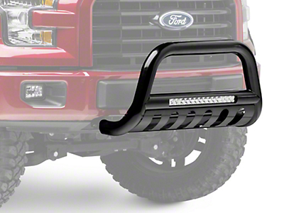 Steel Craft Bull Bar w/ 20 in. LED Light Bar (04-18 All, Excluding Raptor)