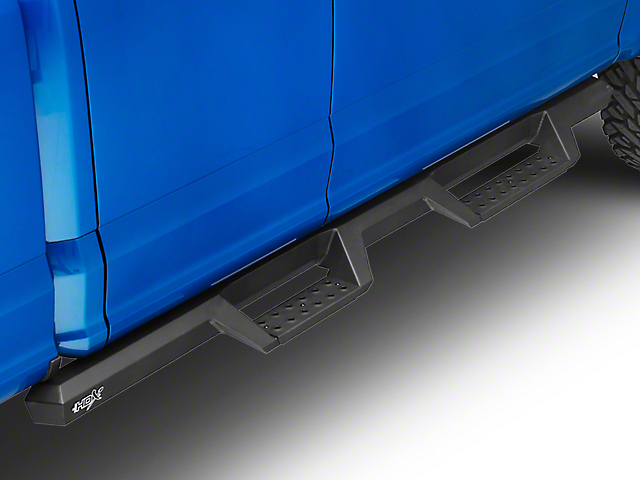 Westin HDX Drop Nerf Side Step Bars - Textured Black (15-19 F-150 SuperCab, SuperCrew)