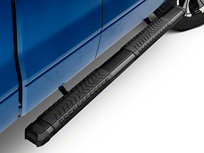 Steel Craft STX400 Aluminum Step Boards - Black (09-14 F-150 SuperCab, SuperCrew)