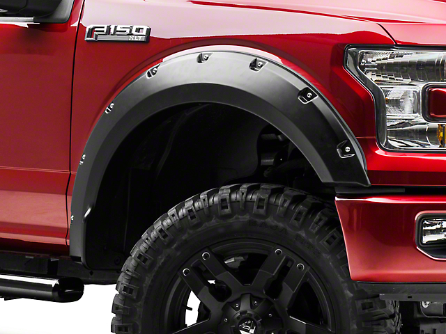 Barricade Premium Molded Fender Flares (15-17 F-150, Excluding Raptor)