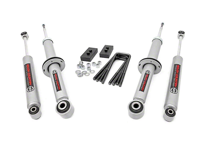 Rough Country 2 in. Lifted Strut Kit w/ Rear Shocks (09-13 2WD/4WD, Excluding Raptor)