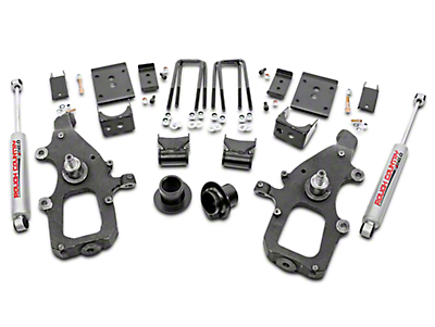 Rough Country Lowering Kit w/ Premium N2.0 Shocks - 3 in. Front / 5 in. Rear (04-08 2WD)