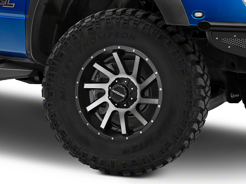 Raceline Twist Black Machined w/ Dark Tint 6-Lug Wheel - 20x9 (04-18 F-150)