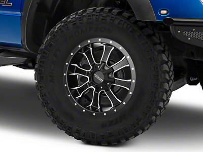 Raceline Mamba Black Milled 6-Lug Wheel - 20x9 (04-19 F-150)