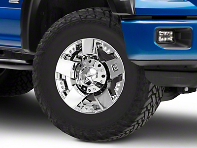 Rockstar XD775 Chrome 6-Lug Wheel - 17x9 (04-18 F-150)