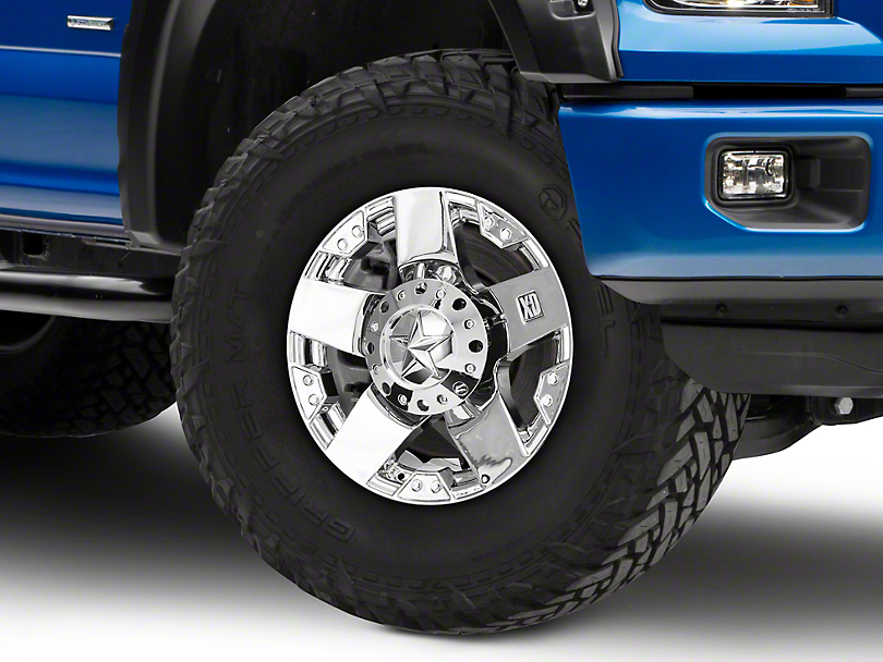 Rockstar XD775 Chrome 6-Lug Wheel - 18x9 (04-18 All)
