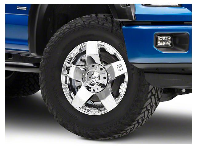 Rockstar XD775 Chrome 6-Lug Wheel - 20x8.5 (15-19 F-150)