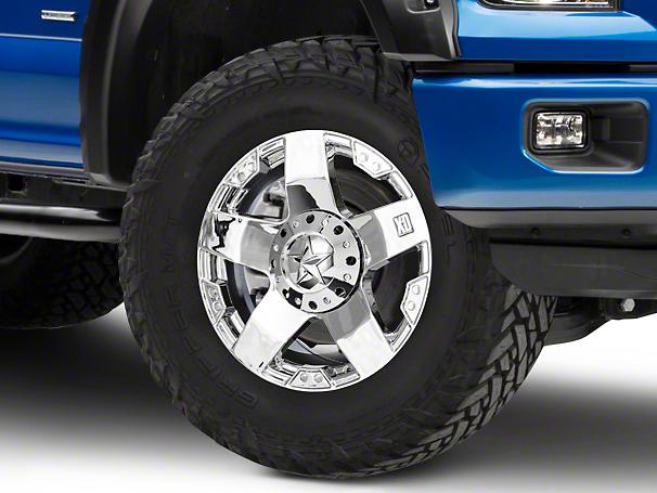 Rockstar XD775 Chrome 6-Lug Wheel - 20x8.5 (04-18 F-150)