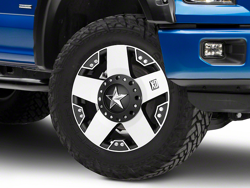 Rockstar XD775 Black Machined 6-Lug Wheel - 17x8 (04-19 F-150)