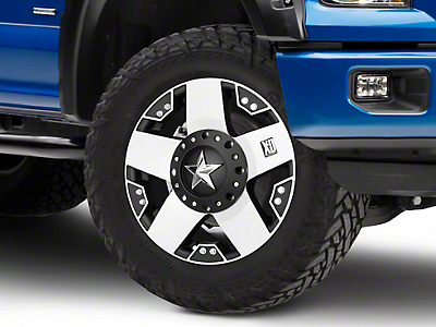 Rockstar XD775 Black Machined 6-Lug Wheel - 17x8 (04-18 F-150)
