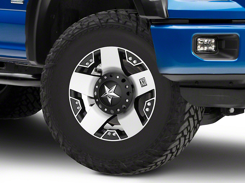 Rockstar XD775 Black Machined 6-Lug Wheel - 17x9 (04-18 All)