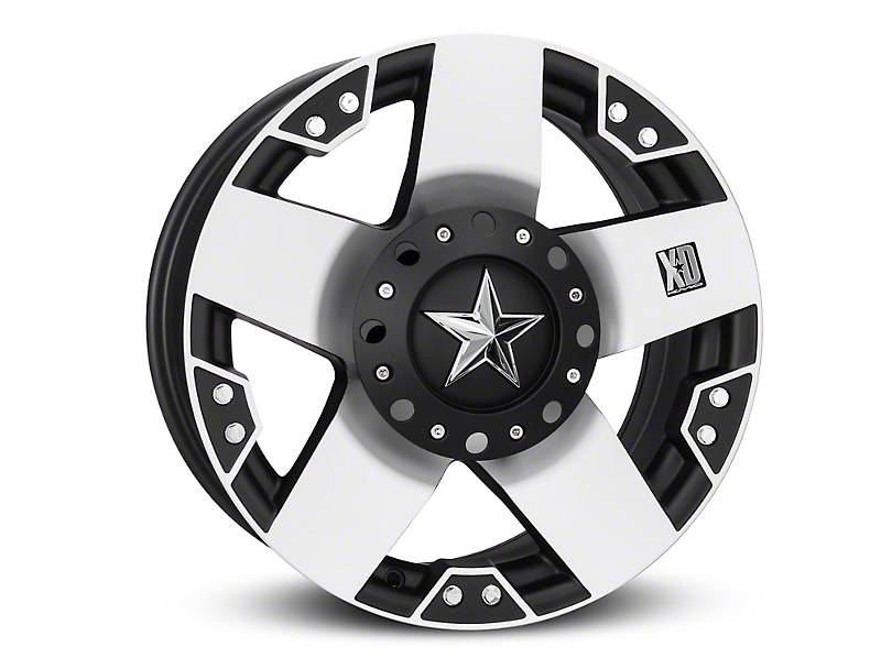 Rockstar XD775 Black Machined 6-Lug Wheel - 18x9 (04-19 F-150)
