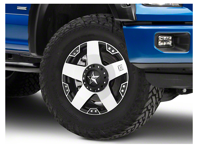 Rockstar XD775 Black Machined 6-Lug Wheel - 20x8.5 (04-18 F-150)