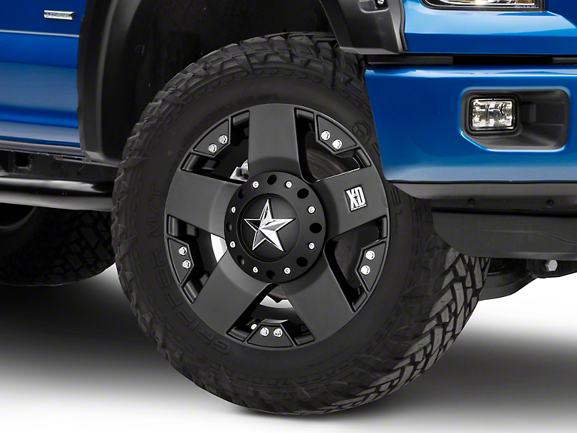 Rockstar XD775 Matte Black 6-Lug Wheel - 17x8 (04-18 All)