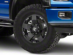 Rockstar XD775 Matte Black 6 Lug Wheel