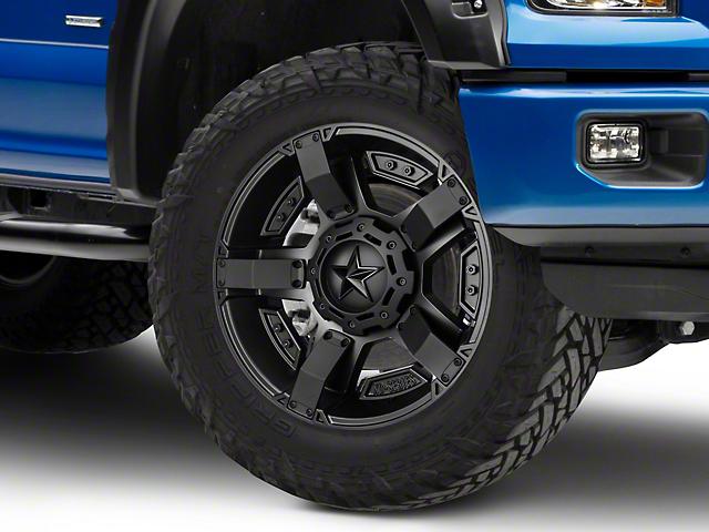 Rockstar XD811 RS2 Satin Black 6-Lug Wheel - 20x9 (04-18 F-150)