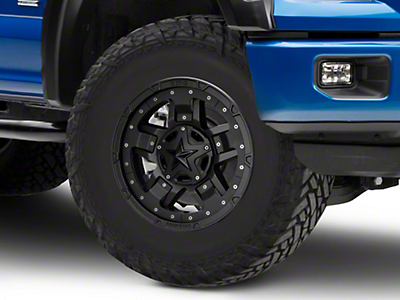 Rockstar XD827 RS3 Matte Black 6-Lug Wheel - 17x8 (04-18 F-150)